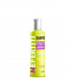 Shampoo con extracto de hierbas PARA USO FAMILIAR